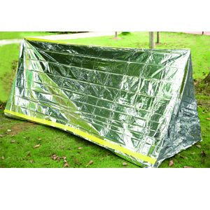 Thermal Foil Emergency Tube Tent  sc 1 st  JoYous C& & Thermal Foil Emergency Tube Tentfoil tube tentresuce tube tent ...